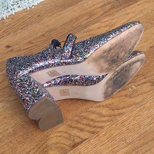 e007c08c66b8 Madewell Shoes - Madewell Zelda Mary Jane in Glitter